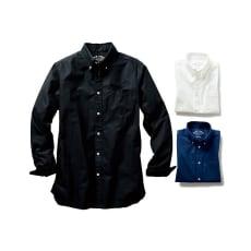(3L・5L)オックスフォード ボタンダウンシャツ (長袖)