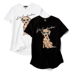 WORDROBE/ワードローブ スパンコールTシャツ