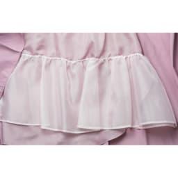 (総丈73cm)TRECODE/トレコード 神戸・山の手スカート 内側のチュールでボリューム感を出しています。