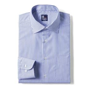 100番双糸 GIZAコットン ワイドカラー ワイシャツ 写真
