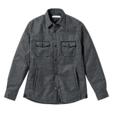 撥水 中綿シャツジャケット