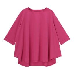 (再入荷)インド超長綿 オーバーサイズ プルオーバー (ア)ピンク FRONT
