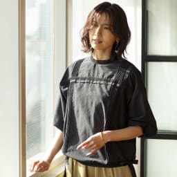 YUKIKO OKURA/ユキコ・オオクラ レピドライト ドロップ イヤリング・ピアス (イ)ピアス コーディネート例