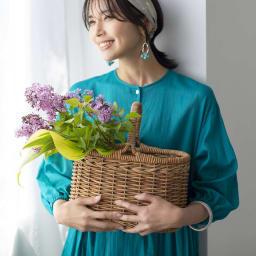 YUKIKO OKURA/ユキコ・オオクラ ターコイズカラー イヤリング・ピアス (イ)ピアス コーディネート例