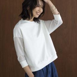 YUKIKO OKURA/ユキコ・オオクラ ヴィンテージ風ビーズ コットン ラップブレス コーディネート例