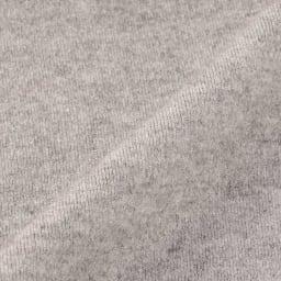 スムース編み ノースリーブパーカ 生地アップ