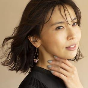 YUKIKO OKURA/ユキコ・オオクラ レピドライト ドロップ イヤリング・ピアス 写真