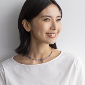 YUKIKO OKURA/ユキコ・オオクラ SV アイオライト ネックレス 写真
