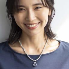 YUKIKO OKURA/ユキコ・オオクラ SV シリマナイト クォーツヘッド付き ネックレス