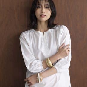 YUKIKO OKURA/ユキコ・オオクラ バングル 12本セット 写真
