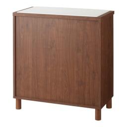 【レンタル仮申込】アルダー無垢材キッチン収納 アールシリーズ カウンター 幅80cm 背面も美しい化粧仕上げです。