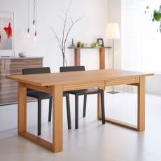 【レンタル仮申込】Gulf/ガルフ 引き出し付きダイニングテーブル 幅170cm