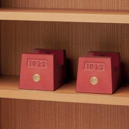【レンタル商品】Chasse(シャッセ) ブックシェルフ 幅60奥行30高さ120.5cm 棚板は耐荷重約30kgを実現した頑丈さ。