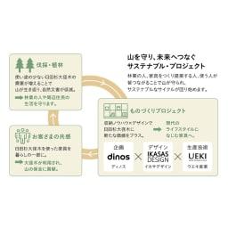 【レンタル商品】日田杉 ブックラック 幅90cm 高さ76cm