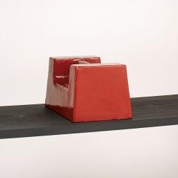 【レンタル商品】日田杉 モダンブックラック 幅58cm 高さ84cm 耐荷重20kgの棚板。ブックラックとしても安心な構造。