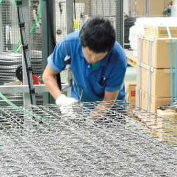 【レンタル商品】国産抗菌マットレス ポケットコイルマットレス ワイドダブル 国内工場で一貫生産。職人歴30年以上のベテランをはじめ、腕に覚えのあるスタッフが一つ一つ心を込めて仕上げています。