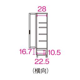 【レンタル商品】アルダー天然木頑丈書棚幅60奥行32ミドルタイプ高さ130cm (横向)※赤文字は内寸(単位:cm)