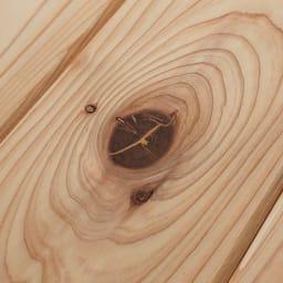 【レンタル商品】国産杉頑丈ディスプレイ本棚(ヴィンテージ風ラック) 幅60cm 引き出しタイプ 杉の自然なフシを活かしたナチュラル仕上げ。