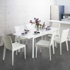 【レンタル商品】簡単伸長!スマート伸長式テーブル 幅140・180cm