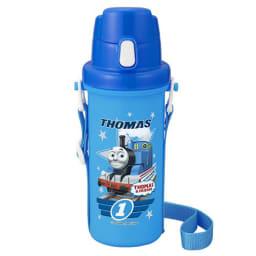 きかんしゃトーマス ランチ3点セット 直飲み水筒はワンタッチオープンで使いやすく、飲み口が広くて洗いやすい。