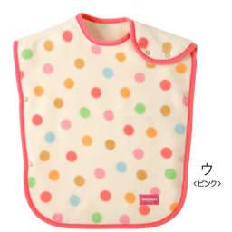 miki HOUSE(ミキハウス)/コットンスリーパー|ベビー (ウ)ピンク水玉
