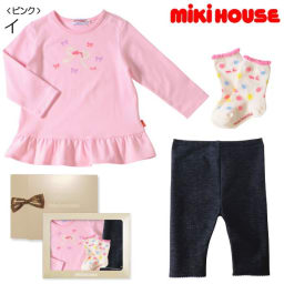 miki HOUSE(ミキハウス)/Tシャツ3点セット (イ)ピンク