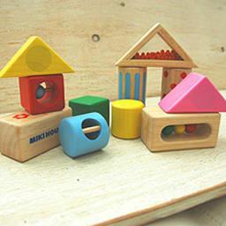 miki HOUSE(ミキハウス)/ラトルブロック|おもちゃ