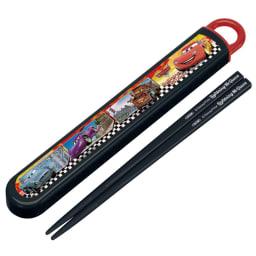 ディズニー カーズタイトランチ3点セット スライド箸セットは、指を掛けやすく引き出しやすいスライド型で箸は16.5cmとお子様に使いやすい長さ