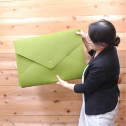 D-fel作品収納ケース(刺繍名入れ)