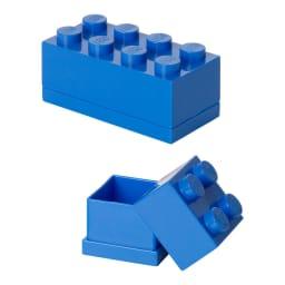 LEGO/レゴ Miniボックス セット (イ)ブルー2点セット