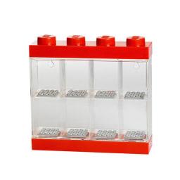 LEGO/レゴ ミニフィギュア ディスプレイケース8 (ア)レッド