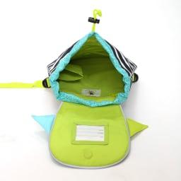 Laessig(レッシグ)/リトルモンスターズ キッズダッフルバッグパック 内部にはファスナー式ポケットとオープンポケット付