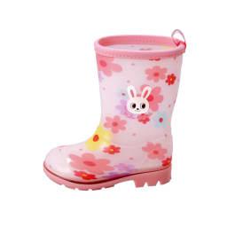 miki HOUSE(ミキハウス)/プッチーうさこ レインブーツ|長靴 (ア)ピンク