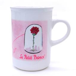 星の王子さま カップ3客セット 薔薇の絵をモチーフにしたカップ