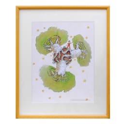 星の王子さま エディショナルナンバー付きアート (エ)バオバブの木