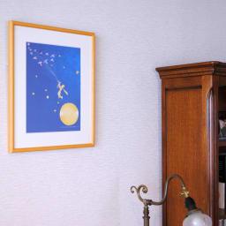 星の王子さま エディショナルナンバー付きアート 『地球に向かう王子』有名なワンシーン。大切なバラの花を置き去りにして、地球に向かう王子に思いを馳せて。