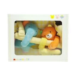miki HOUSE(ミキハウス)/ソフトプレイジム おもちゃ BOX入り