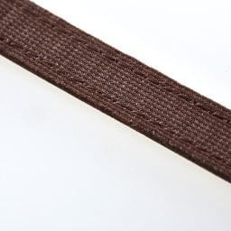 静電気対策レザーブレスレット (ア)ブラウン/内側に帯電防止効果のある生地使用!
