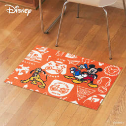ミッキー/玄関マット 50×75cm|Disney(ディズニー) (ア)ミッキーと仲間達