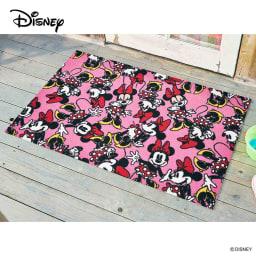 ミッキー/玄関マット 75×120cm|Disney(ディズニー) (イ)ミニー
