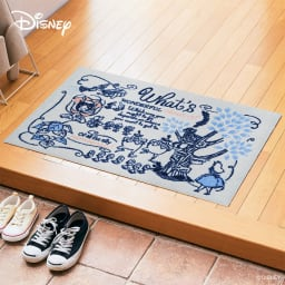 不思議の国のアリス/玄関マット 60×90cm|Disney(ディズニー)