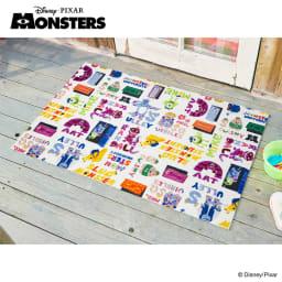 Monsters, Inc(モンスターズインク)/玄関マット75×120cm|Disney(ディズニー)