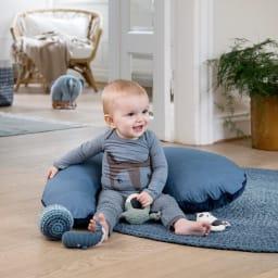 sebra(セバ)/ボールの手編みラトル Lサイズ ベビー おもちゃ