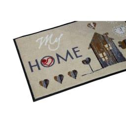 Japan Hearts(ジャパンハート)/マイホームハートデザイン 玄関マット|エントランスマット|屋内外兼用
