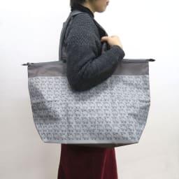 moz(モズ)/保冷機能付きショッピングトートバッグ|エルク (ア)グレー