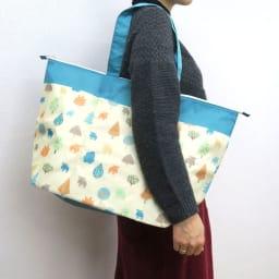 moz(モズ)/保冷機能付きショッピングトートバッグ|エルク (イ)フォレスト