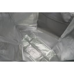 moz(モズ)/保冷機能付きショッピングトートバッグ|エルク アルミシートを内側に貼り付けたショッピングバッグ