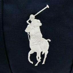 POLO RALPHLAUREN(ポロラルフローレン)/CAMINO TOTE OS(カミーノ トート オーエス)トートバッグ|キャンバス (エ)ネイビー/ホワイトロゴ