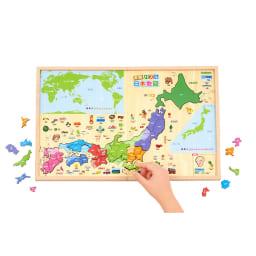 学研ステイフル/学研の遊びながらよくわかる 木製パズル日本地図