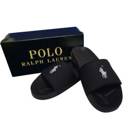 POLO RALPHLAUREN(ポロラルフローレン)/REMI SLIDE II(レミスライド ツー)サンダル(23.0-25.0cm) ジュニア用 (イ)ブラック